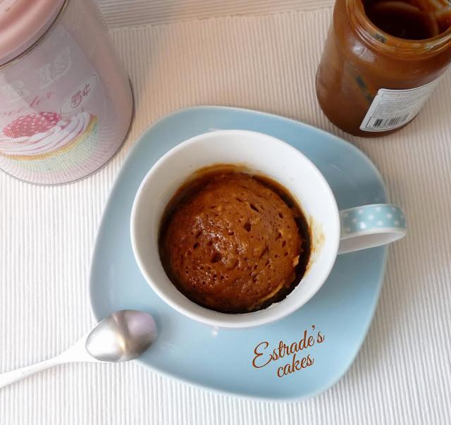 receta de mugcake de dulce leche 1