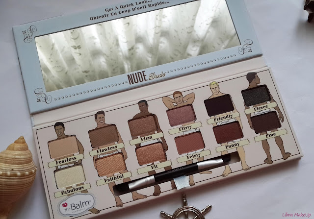 the balm nude dude, nude dude eyesahow palette, makeup palette, the balm nude dude far paleti, the balm palette,
