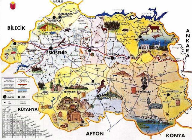 Eskişehir Maps