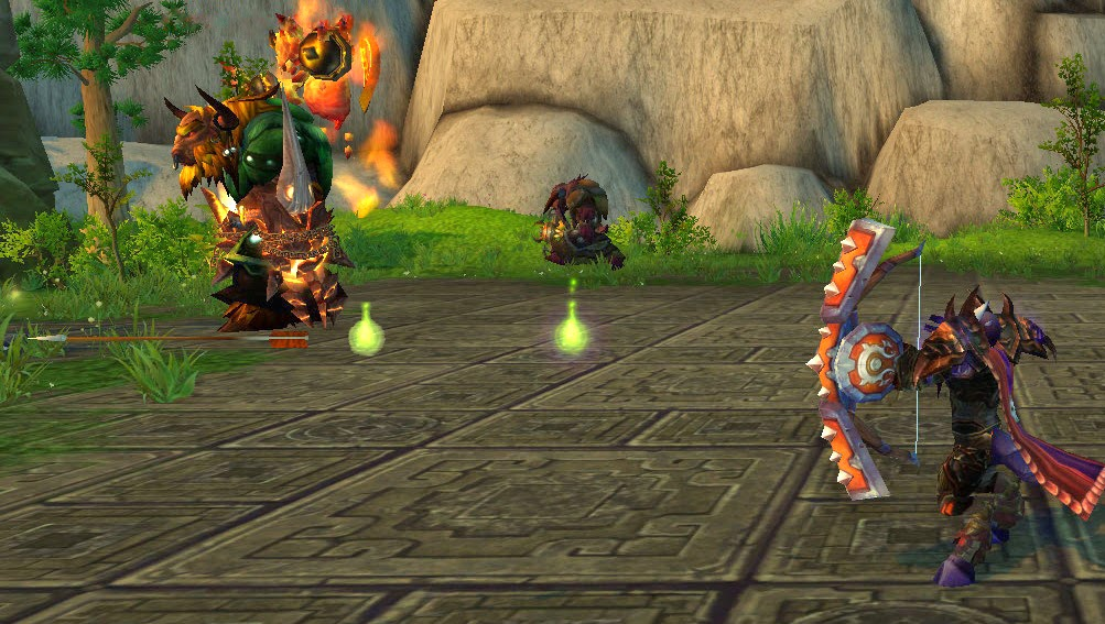 Serpent Sting Animation, Warcraft Hunters