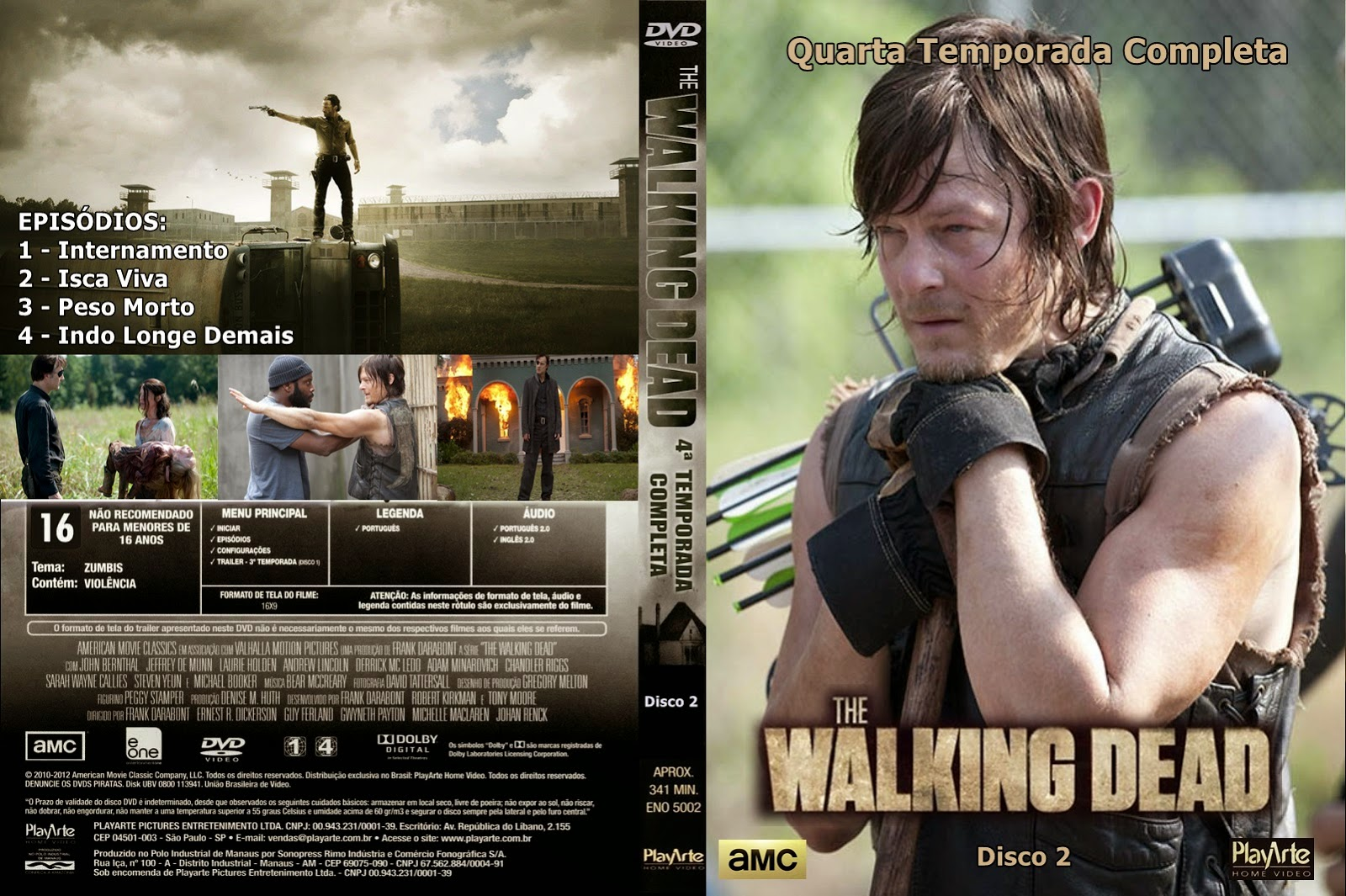Stunning Walking Dead Cuarta Temporada Ideas - Casas: Ideas ...