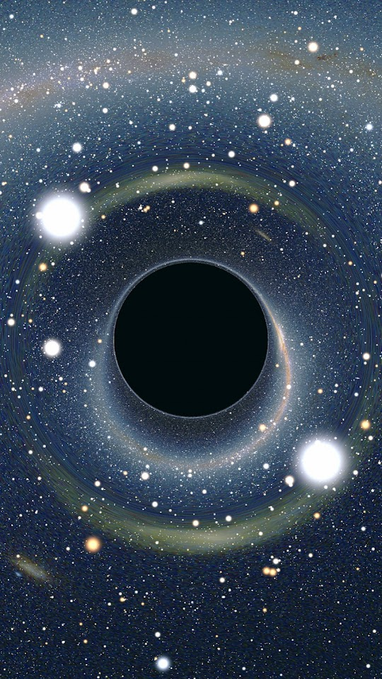 Black Hole  Galaxy Note HD Wallpaper