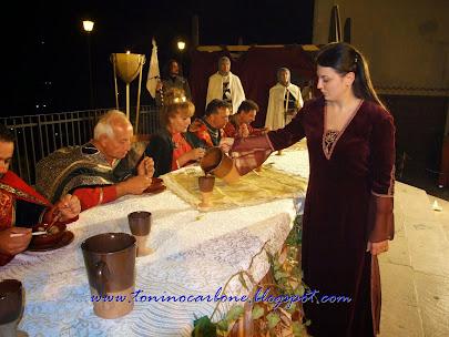 Cena Medievale passate edizioni