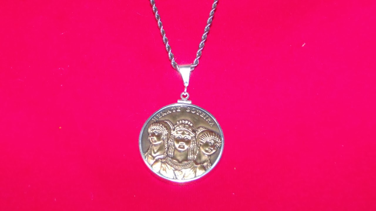 sterling over silver watches s hecates product protection pendant overstock for orders free hecate on shipping and crescent com star jewelry