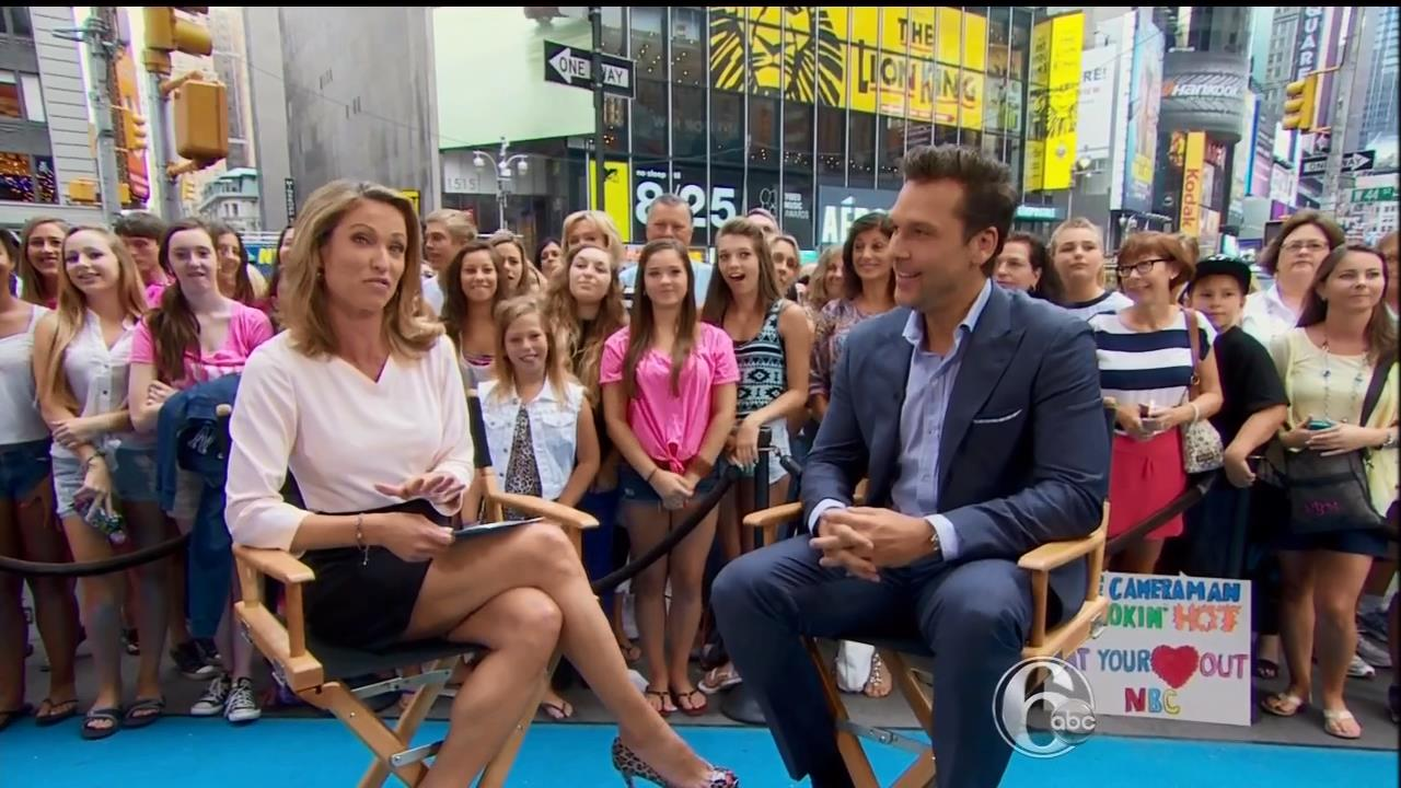Amy Robach Legs Pictures: August 2013