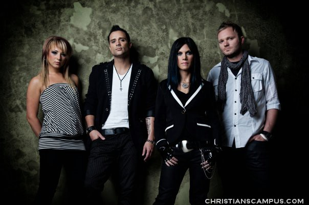 Skillet - Awake and Remixed EP 2011 band members