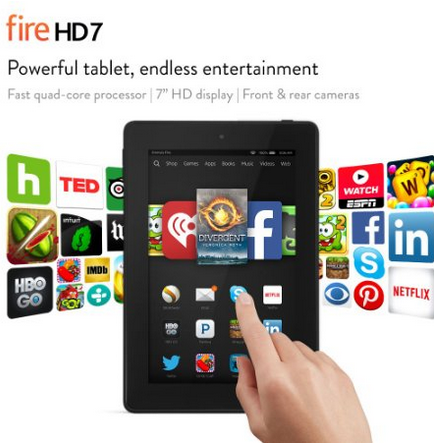 Fire HD 7 Tablet, Fathers Day