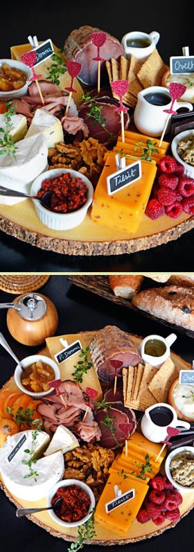 Mais uma tábua de queijos, frios e acompanhamentos
