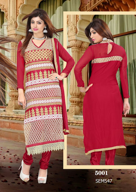 Attractive Long Churidar Salwar Kameez Online