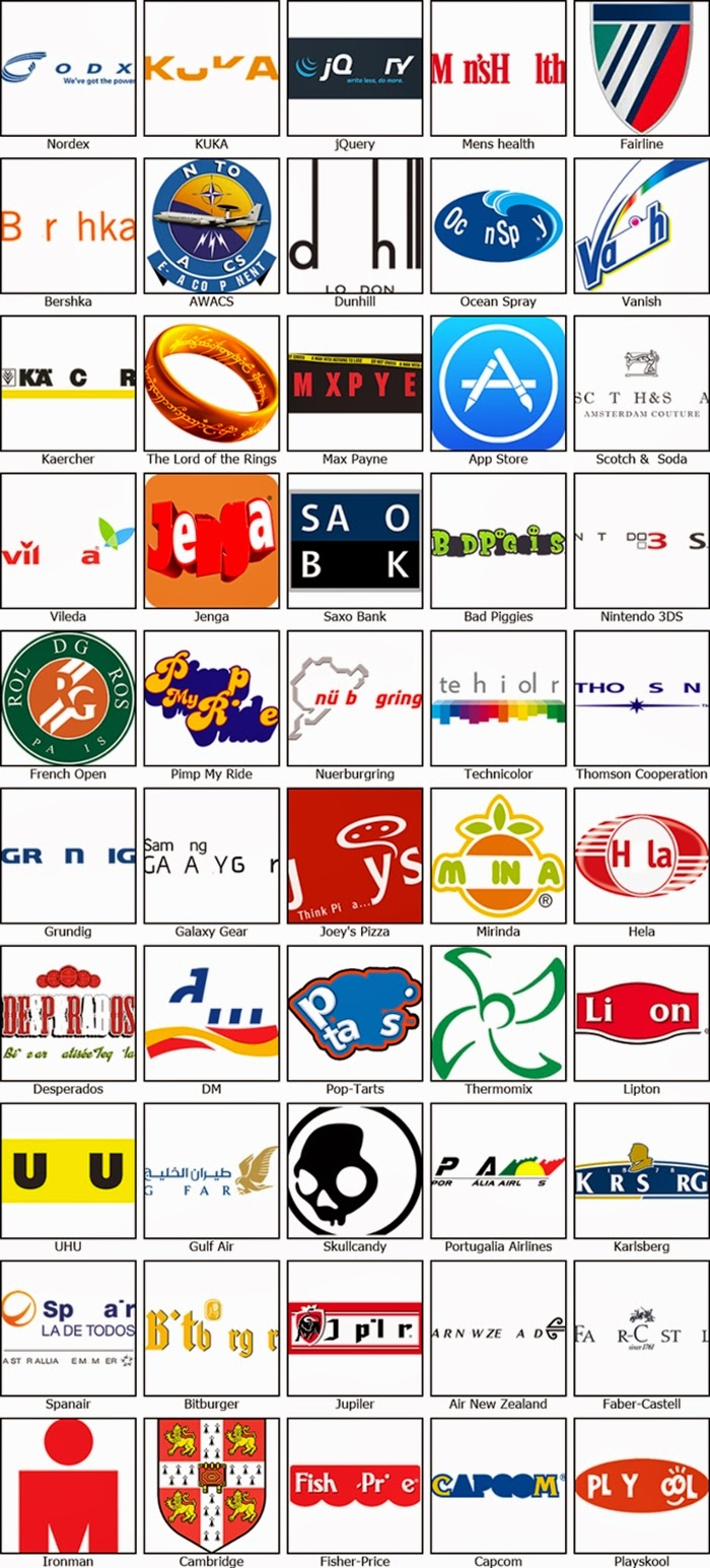 Restaurant Logos Quiz Answers Level
