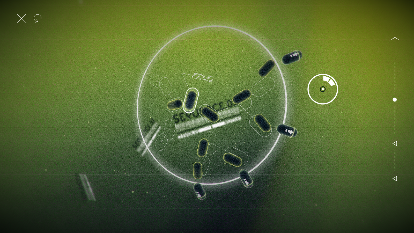 microbial puzzle game splice