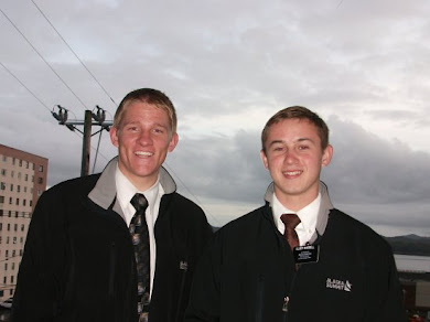 Elder Dean and Elder Waddell Ketchikan