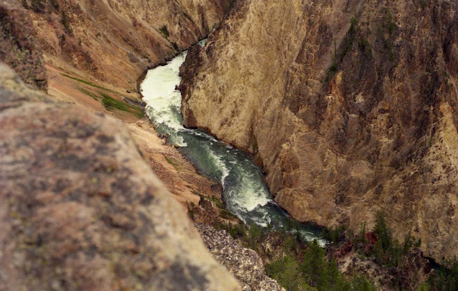 Grand Canyon of the Yellowstone River, Wyoming