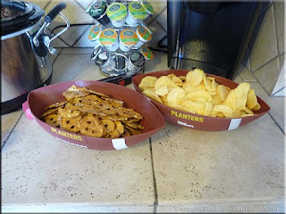 pretzel crisps and potato chips