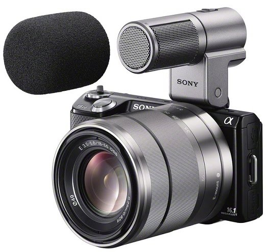 sony nex-5n ecm sst1 microphone