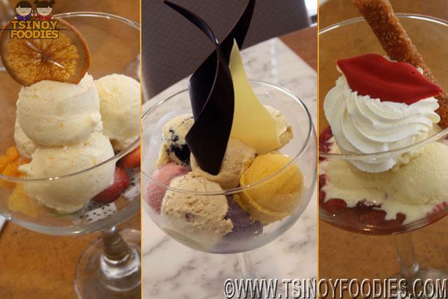 gelato sundae