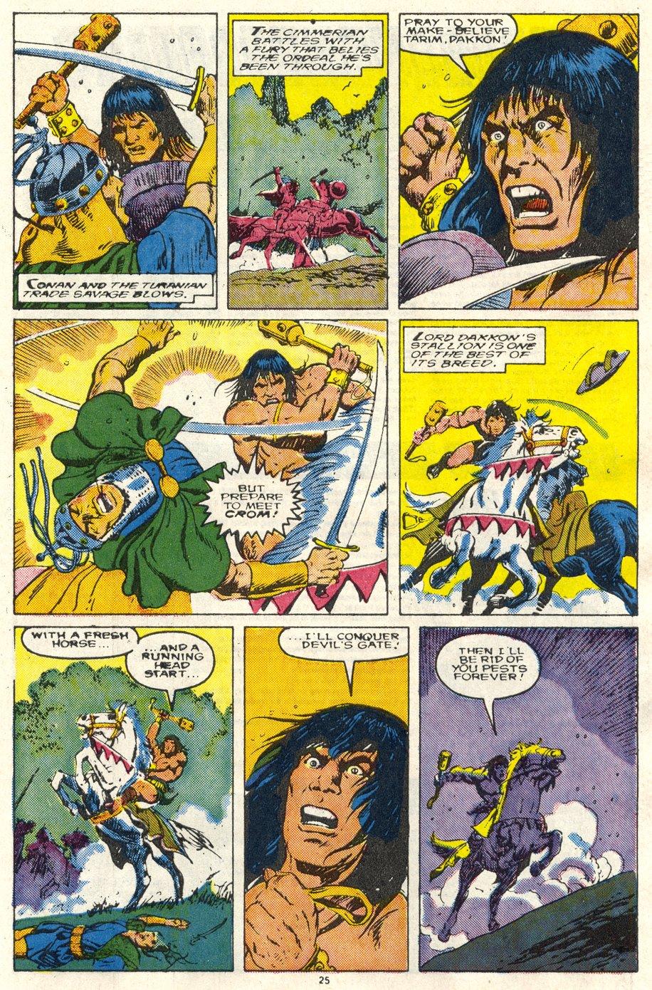 Conan the Barbarian (1970) Issue #219 #231 - English 20