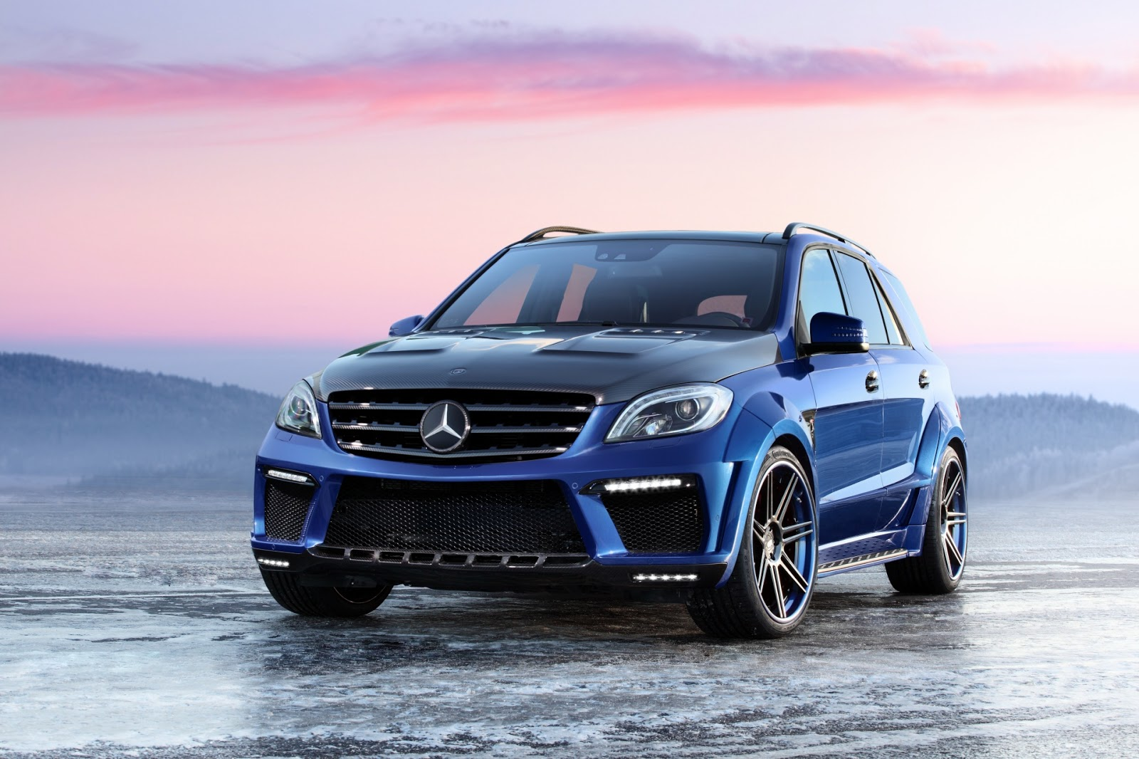 all tuning cars nz 2012 topcar mercedes benz ml63 amg inferno. Black Bedroom Furniture Sets. Home Design Ideas