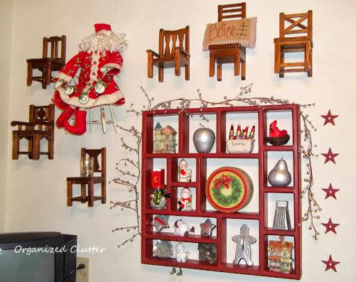 Christmas Kitchen Shadow Box