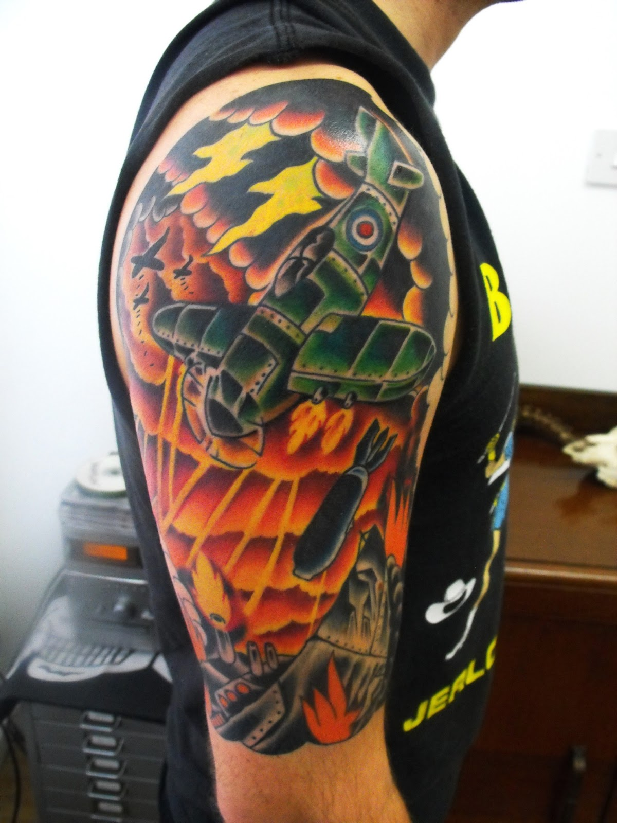 S13 tattoos electric skull tattoo studio is open for Electric 13 tattoo
