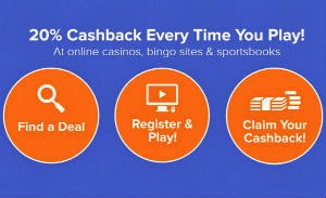 Get 20% Cashback To Play