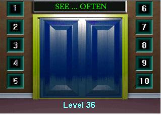 100 doors level 36 game tricks for 100 doors 2 door 36