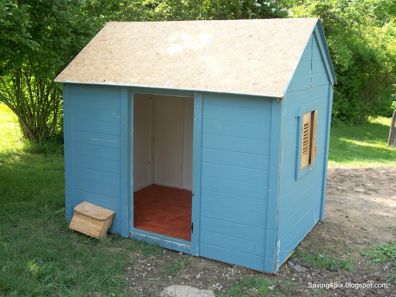 Curtis pdf plans how to build a simple playhouse for Easy to build playhouse