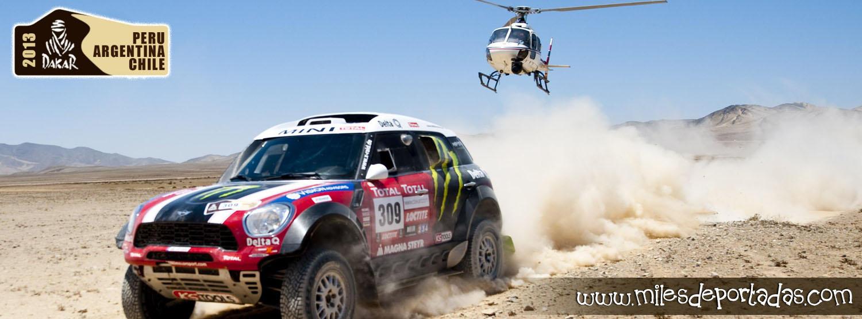 Portadas para Facebook - Dakar 2013 Mini Delta Q
