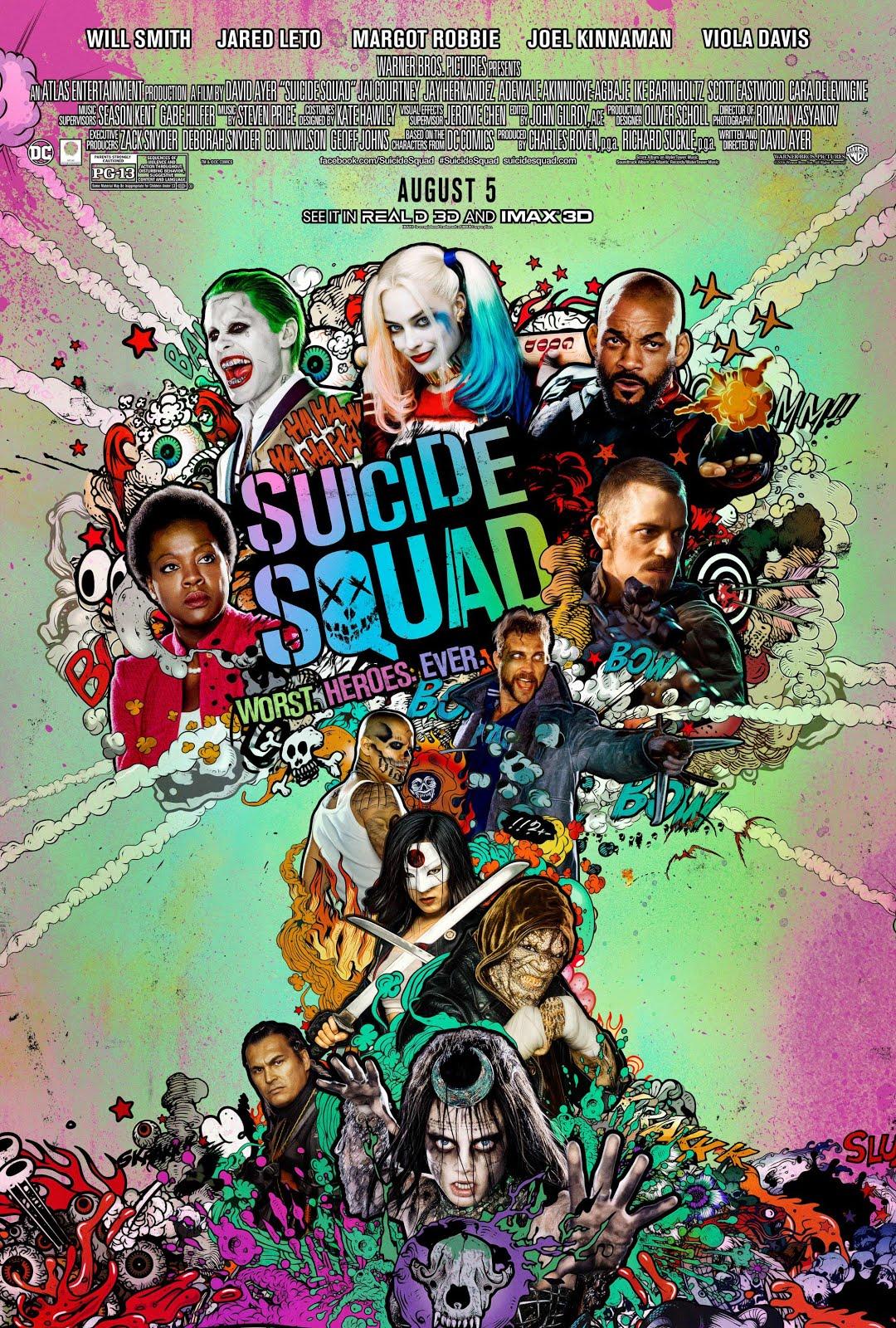 """Reseña: """"Suicide Squad"""""""