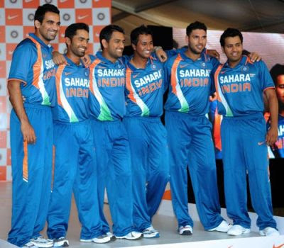 Sports players indian cricket team
