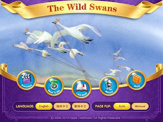 Dongeng Binatang Dalam Bahasa Inggris : THE WILD SWANS