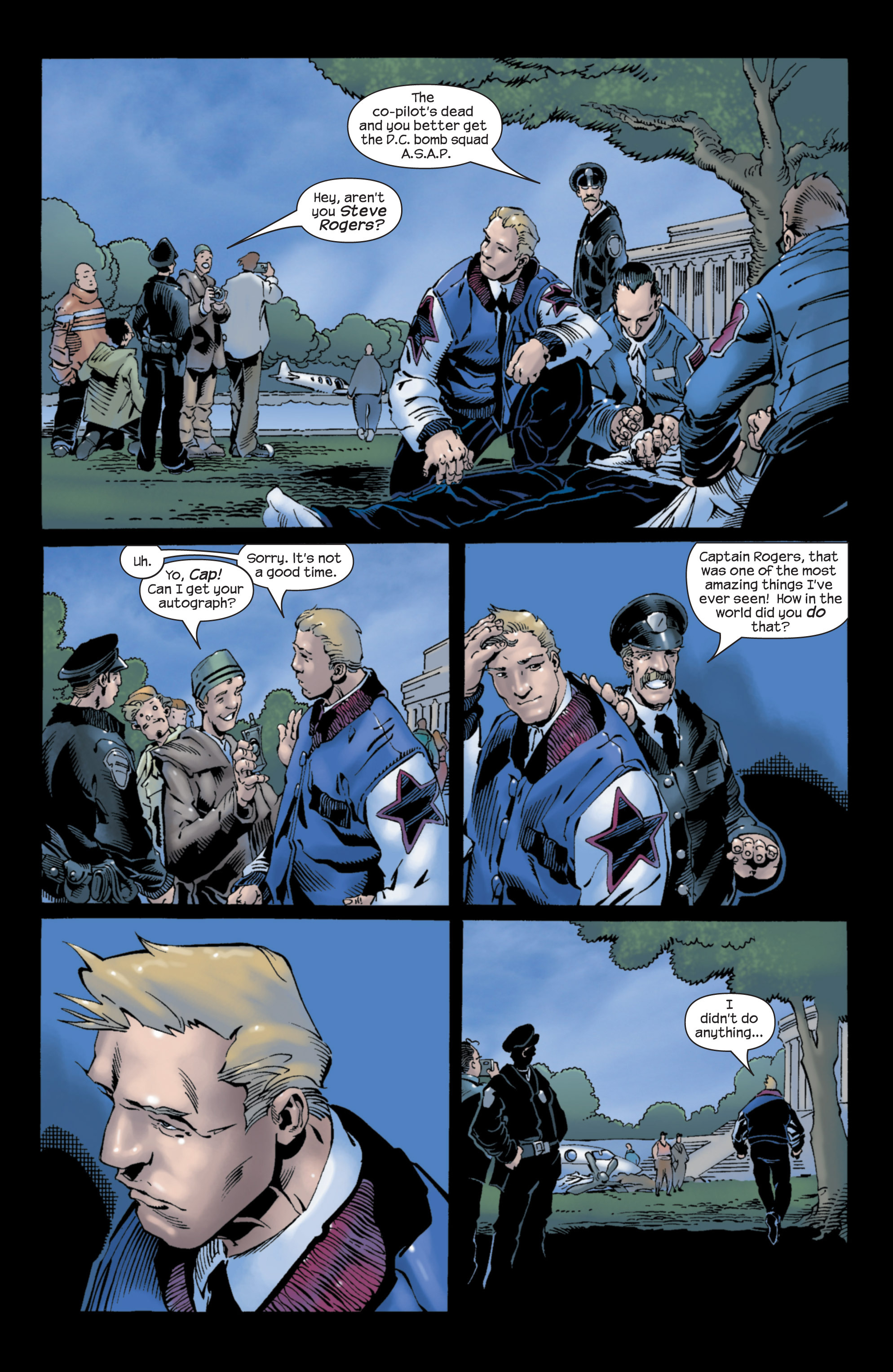 Captain America (2002) Issue #26 #27 - English 21