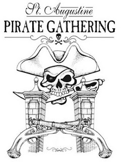 Halloween Weekend Events include Pirates and Uptown Saturday Night 3 pirate+gathering St. Francis Inn St. Augustine Bed and Breakfast