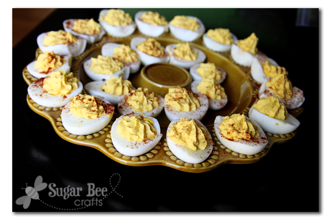 Deviled Eggs - Sugar Bee Crafts