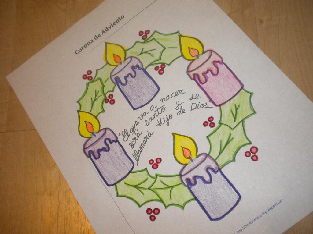 Dibujos De Adviento Para Colorear Free Calendario De Adviento