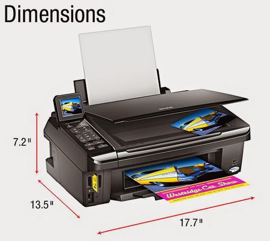 epson stylus nx510 dimensions