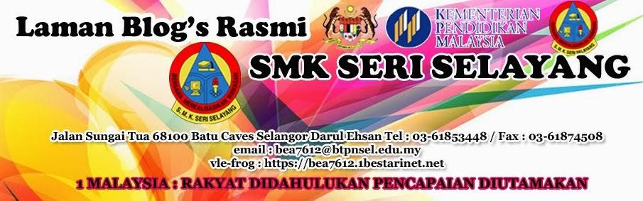 Laman Web Blog's SMK Seri Selayang (BEA7612)