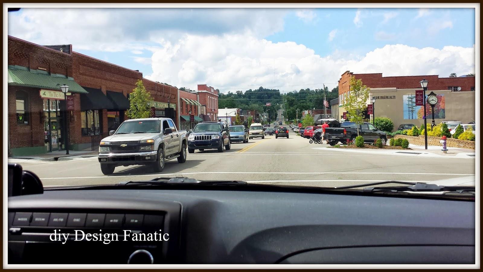diy Design Fanatic: West Jefferson, North Carolinawest jefferson town