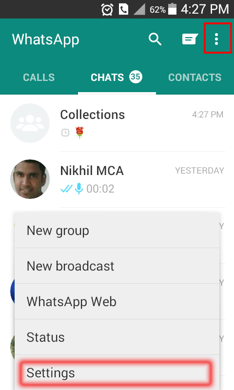 Disable WhatsApp Video Audio Image Automatic Download ...