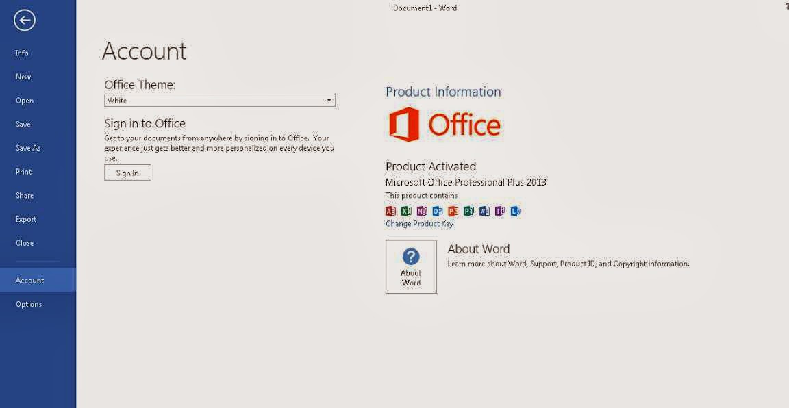 Download Office 2013 KMS Activator