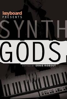 Jan Hammer con su keytar en la portada de Synth Gods