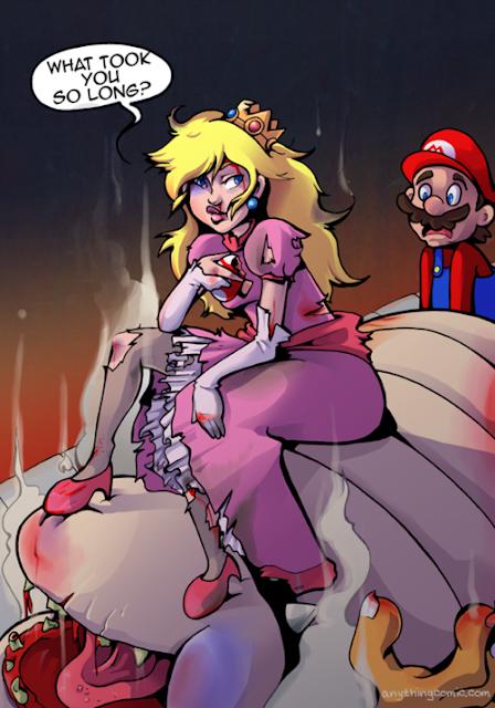 Mario siempre llega tarde en FrikiTapas