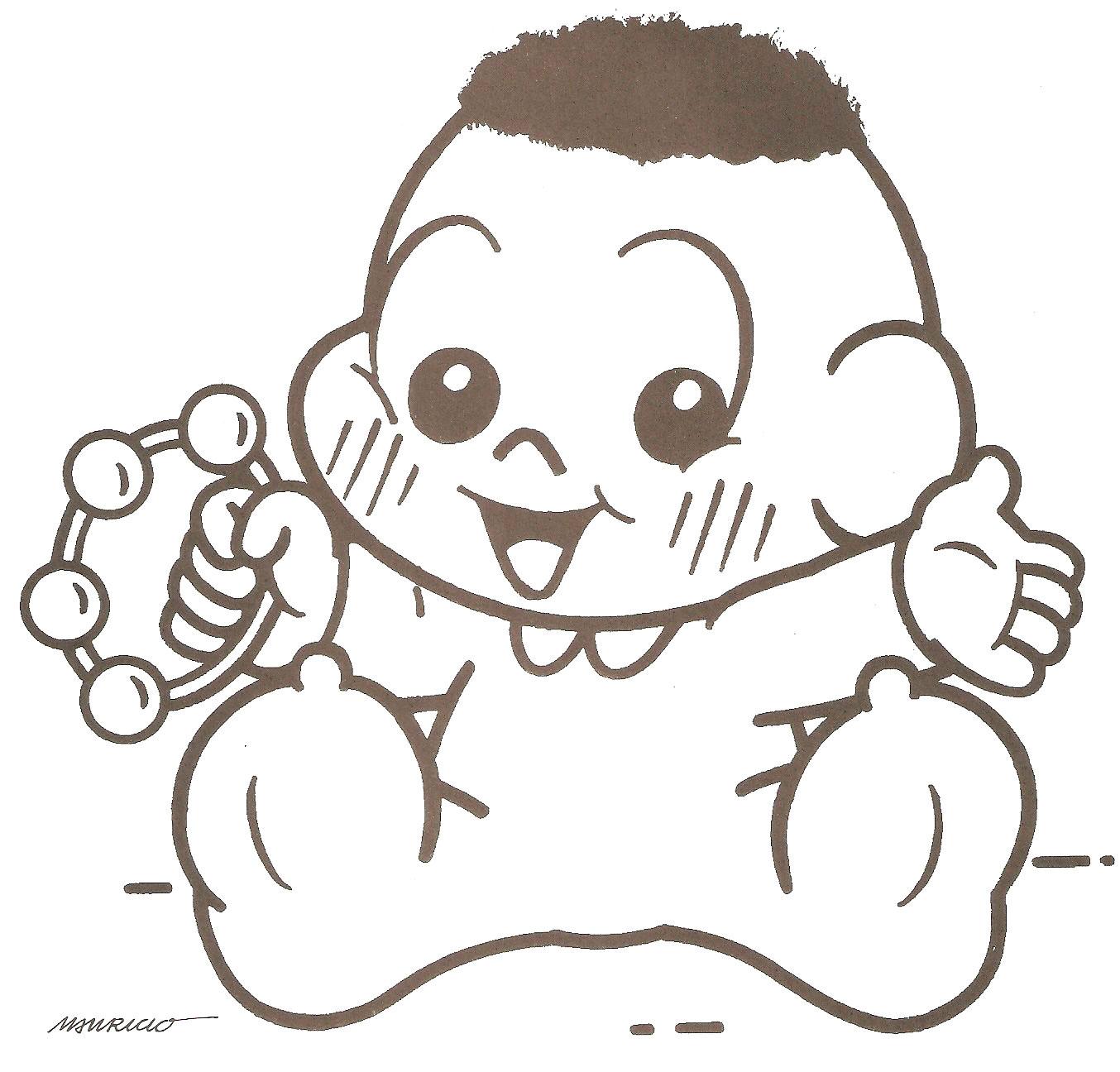 Imagens Turma Da M  Nica Baby Para Colorir