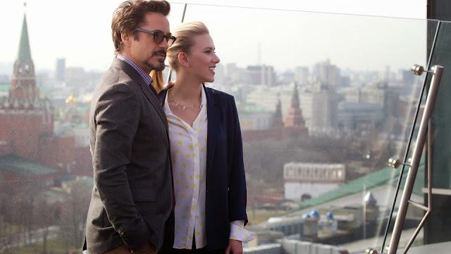 Fondos de Escritorio de Robert DowneyJr. y Scarlett Johansson