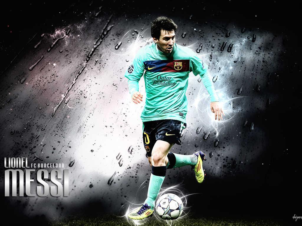 Messi 2012 HD Wallpaper