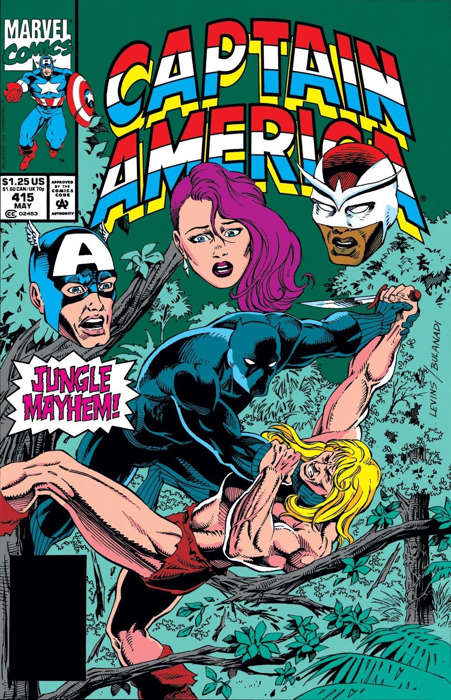 Captain America (1968) Issue #415 #364 - English 1