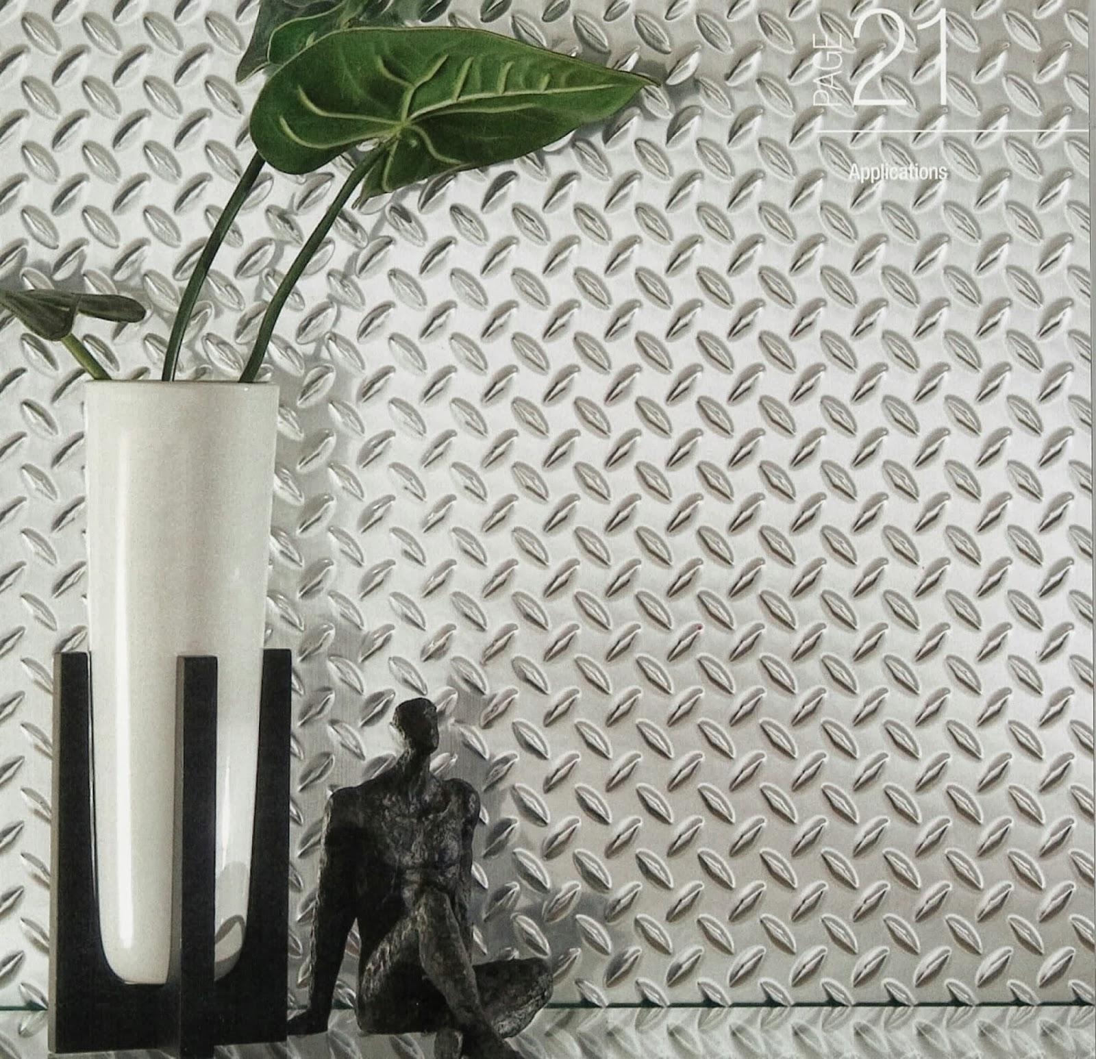 Thermoplastic Diamond Plate Sheets Chrome Plastic