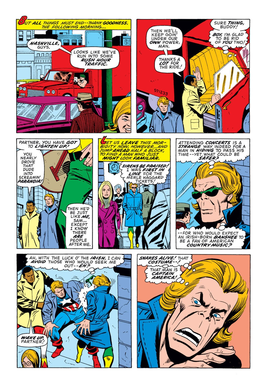 Captain America (1968) Issue #172 #86 - English 10