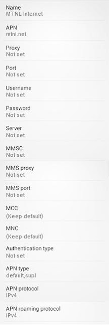 MTNL GPRS Settings for Android/