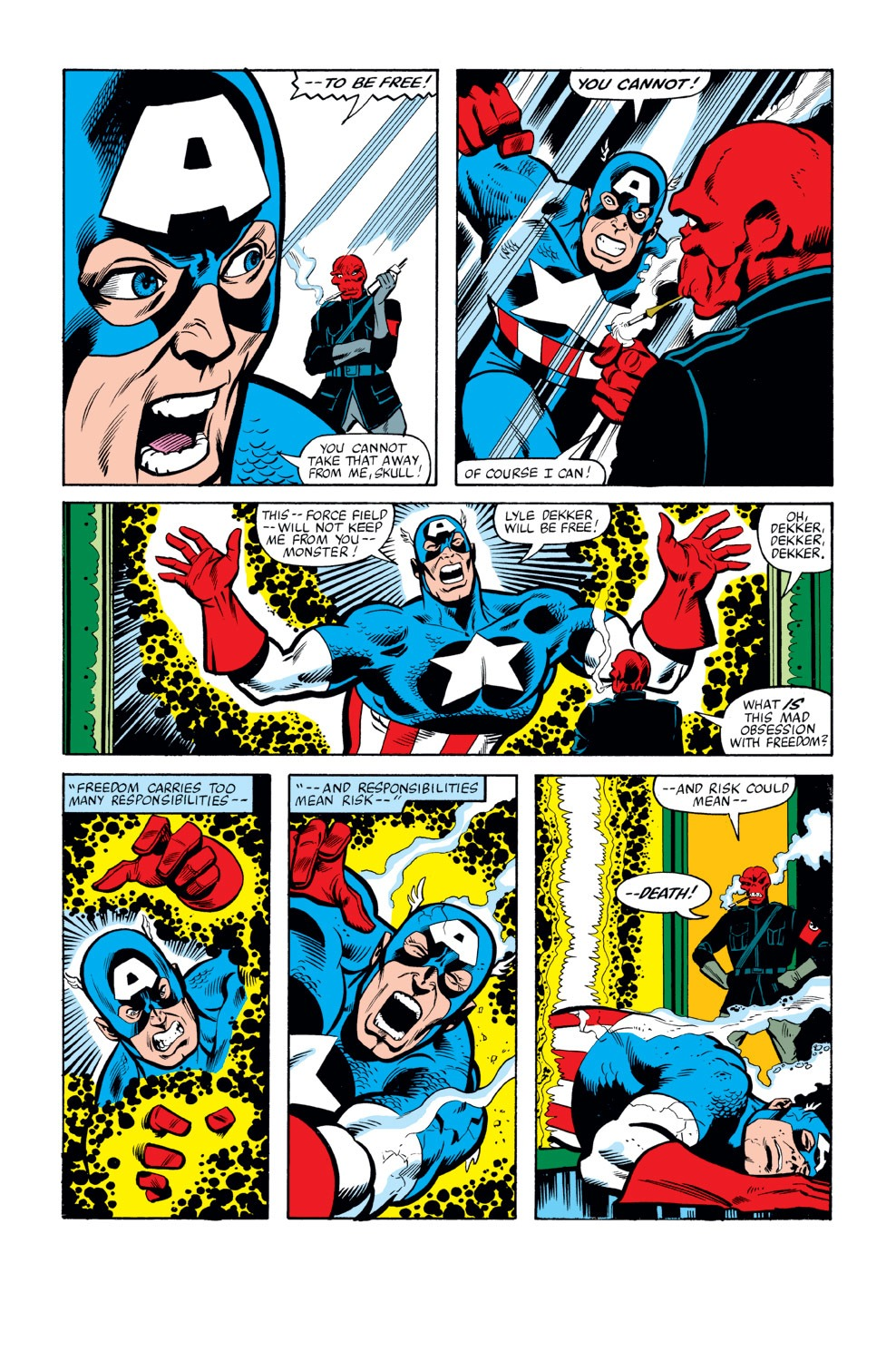 Captain America (1968) Issue #263 #178 - English 8